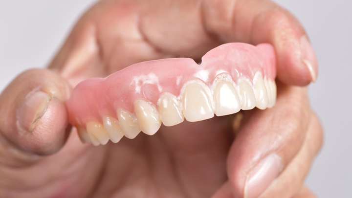 False teeth for the discerning senior - Starts at 60