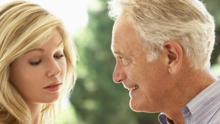 Man dating woman younger older a A Therapist