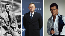Each James Bond actor has been ranked. Source: Getty.