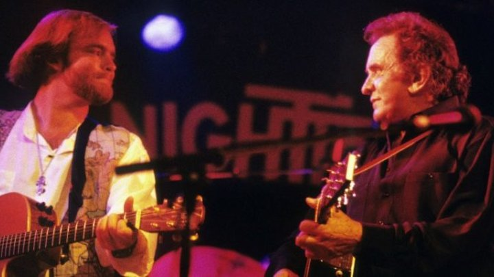 did johnny cash propose to june carter on stage