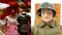 Barbie dolls were a popular toy in the 1960s along with G.I. Joe action figures. Source: Getty/ Flickr