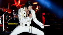 An Elvis fan shows off his skills at the Parkes Elvis Festival.  Source: Supplied