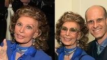 Sophia Loren still looks as fabulous as ever. Source: Getty.