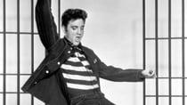 Elvis Presley in one of his most popular films, Jailhouse Rock. Source: Getty.
