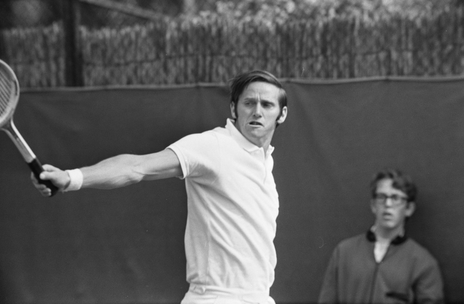 Roy Emerson, now in his 80s, is one of Australia's best ever tennis players.