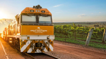 The exciting luxury train journey connecting Adelaide and Brisbane