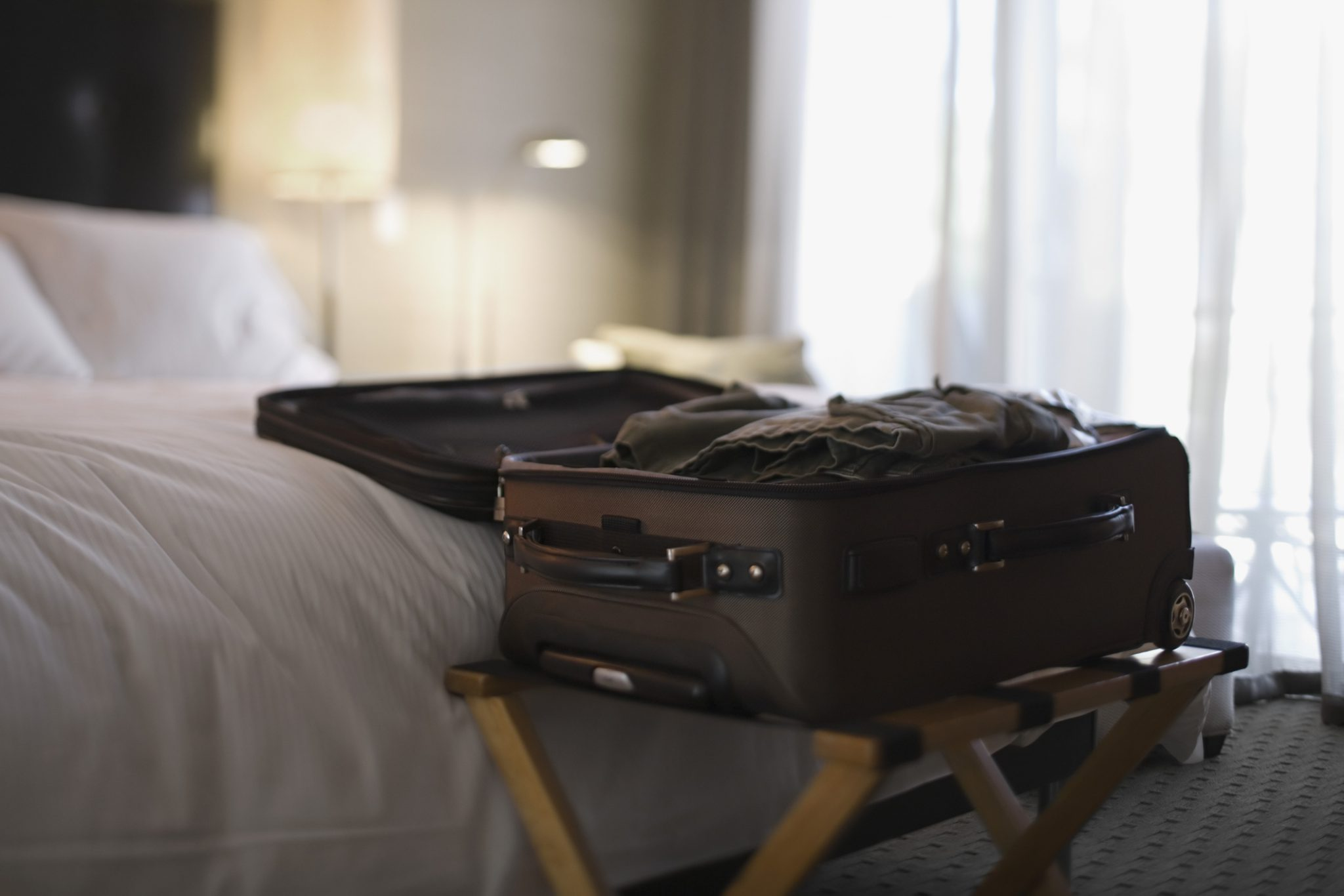 Image of: Why You Should Always Use The Luggage Rack In Your Hotel Starts At 60