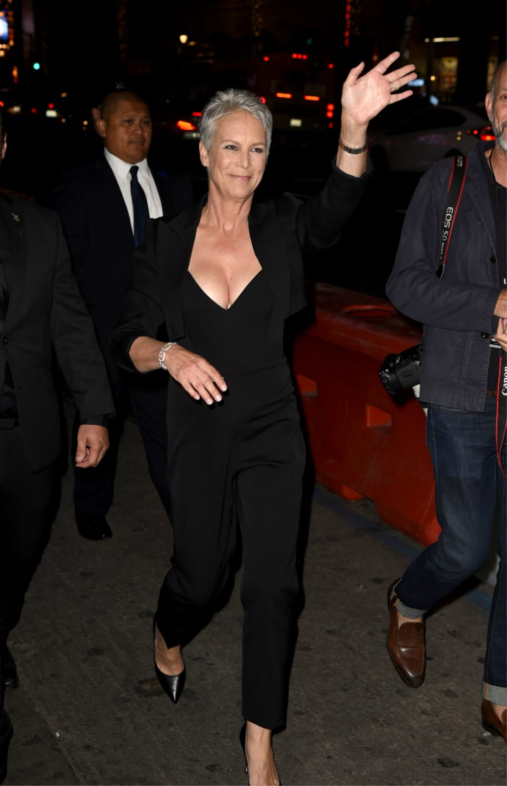 Jame Lee Curtis at a film premiere last year.
