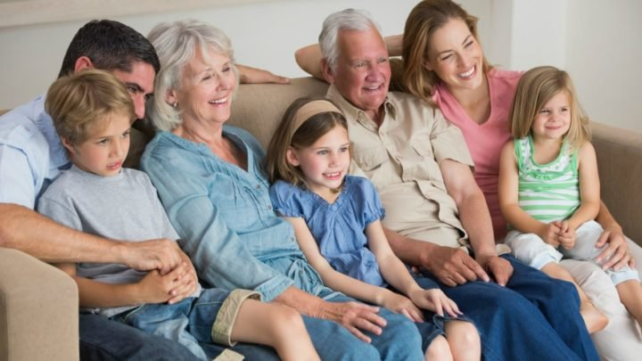 A multi-generational home can have relationship AND financial benefits in the right circumstances. Source: Getty