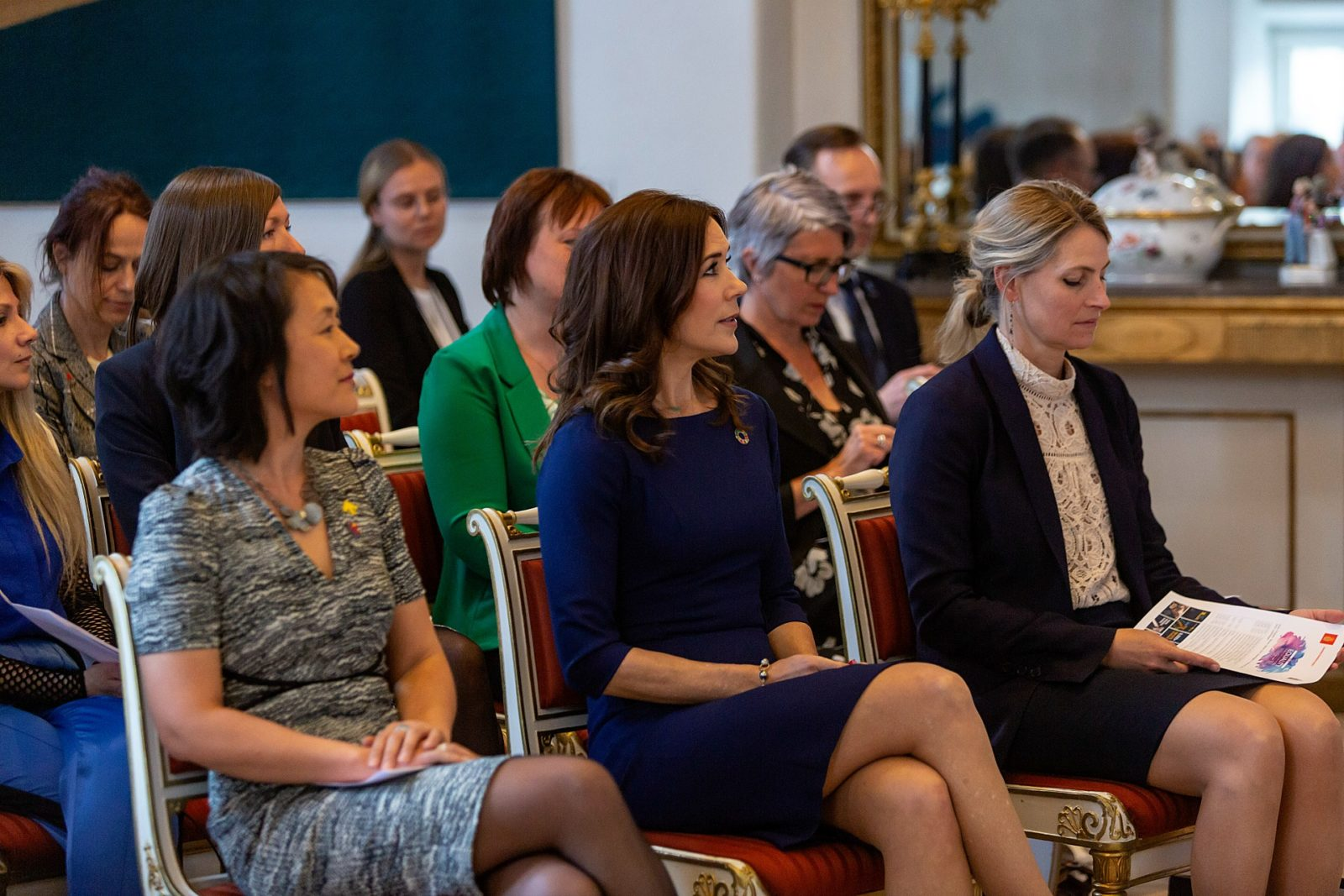 Princess Mary was in the nations capital on Tuesday for the Women Deliver conference. Source: Getty