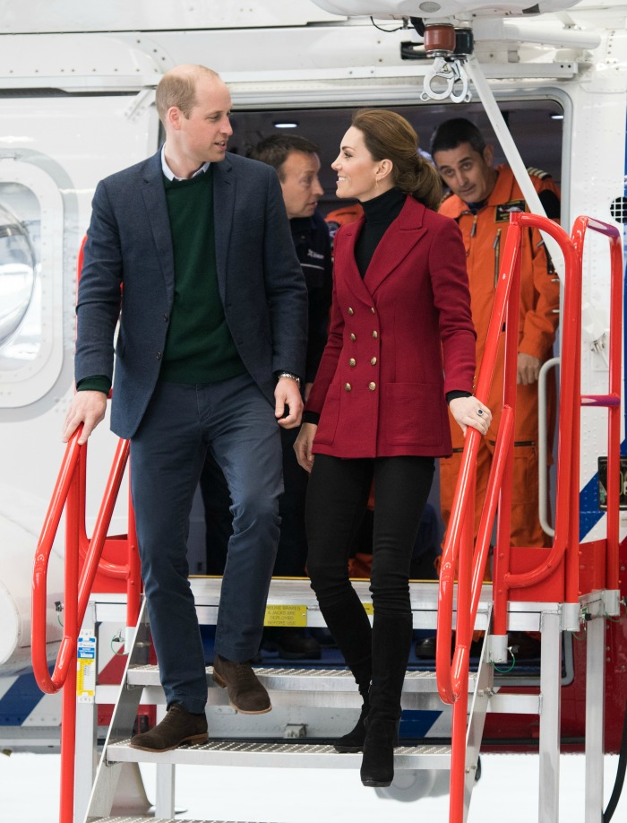 The Duke and Duchess of Cambridge stepped out together in North Wales on Wednesday. Source: Getty.