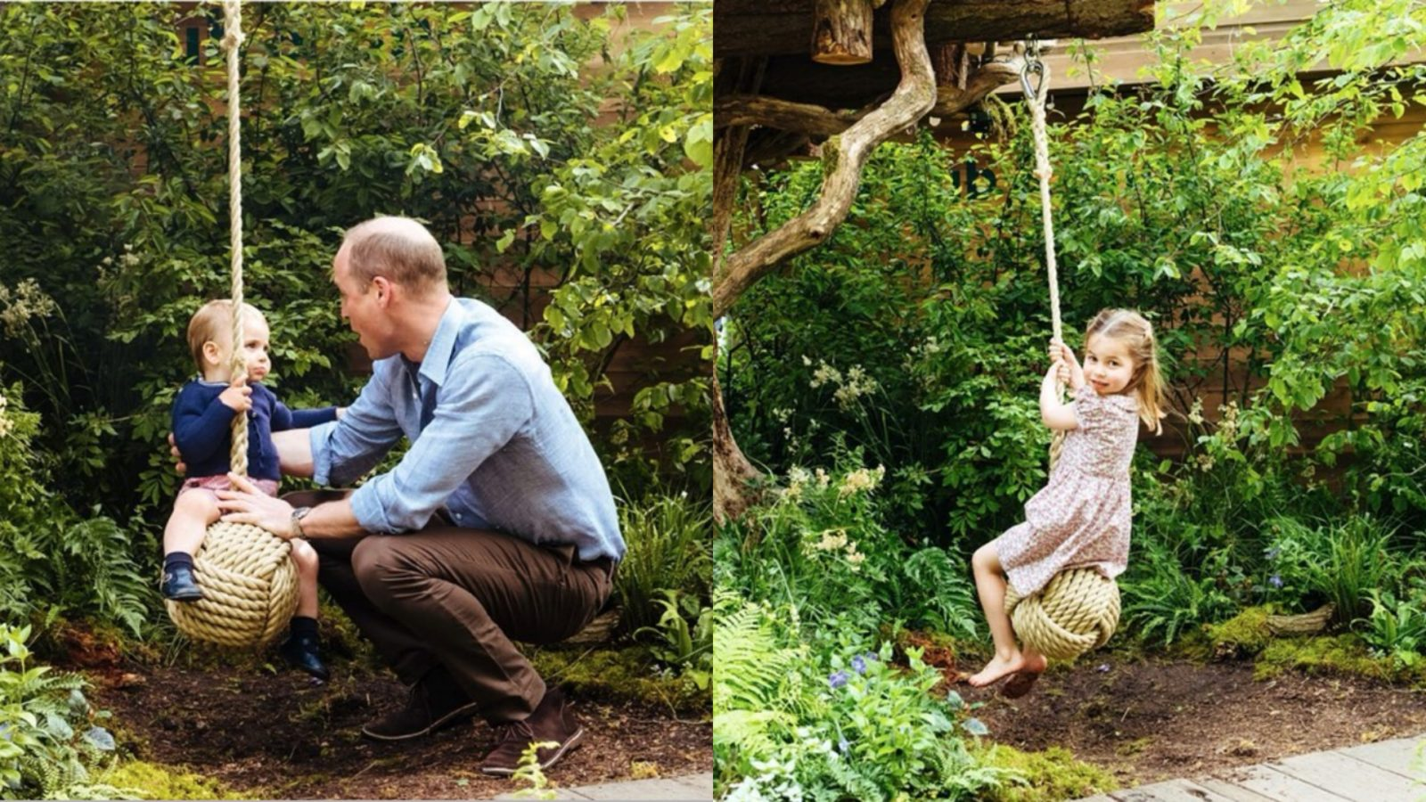 Prince William, Louis Louis and Princess Charlotte enjoyed their time at the Chelsea Flower Show.