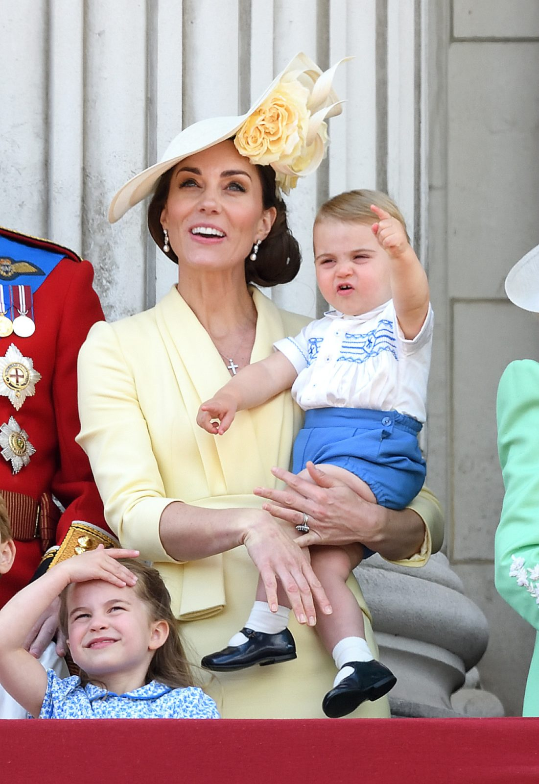Prince Louis hilarious facial expressions at Trooping the Colour