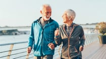 Healthy habits, like taking a daily walk, reduce your likelihood of developing heart failure.