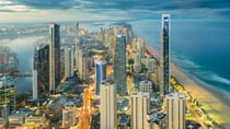 Gold Coast, Australia at sunset. Source: Getty Images