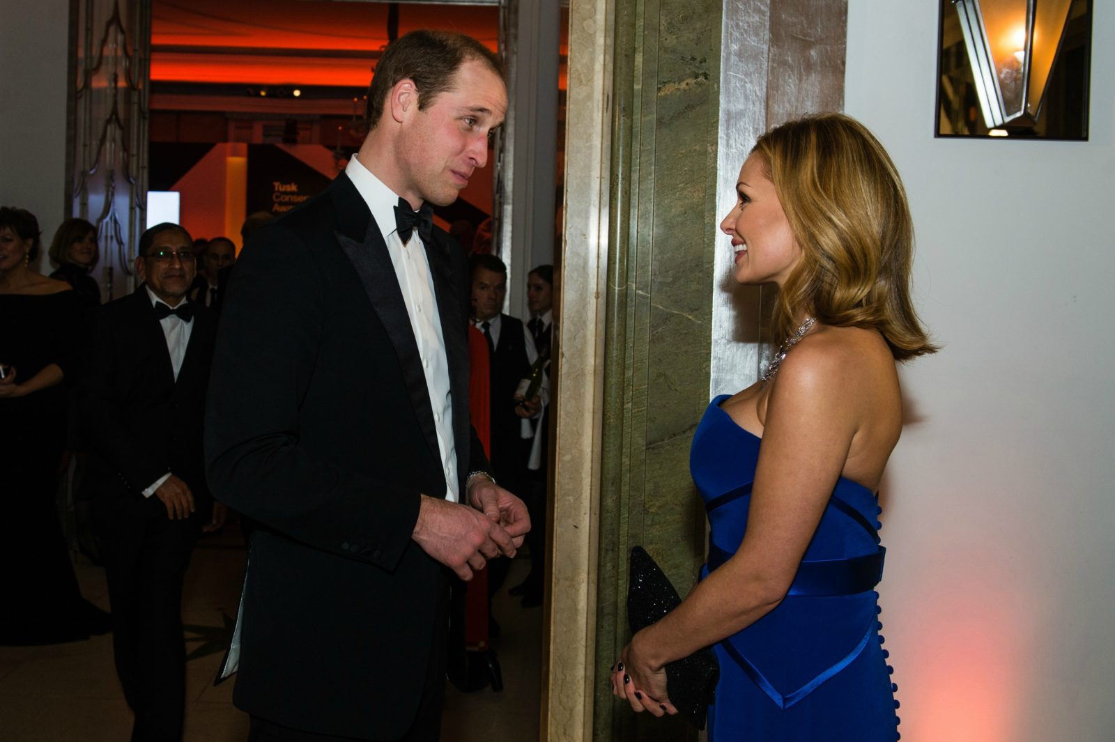 Katherine Jenkins has become a favourite of the royal family, including Prince William. Source: Getty.