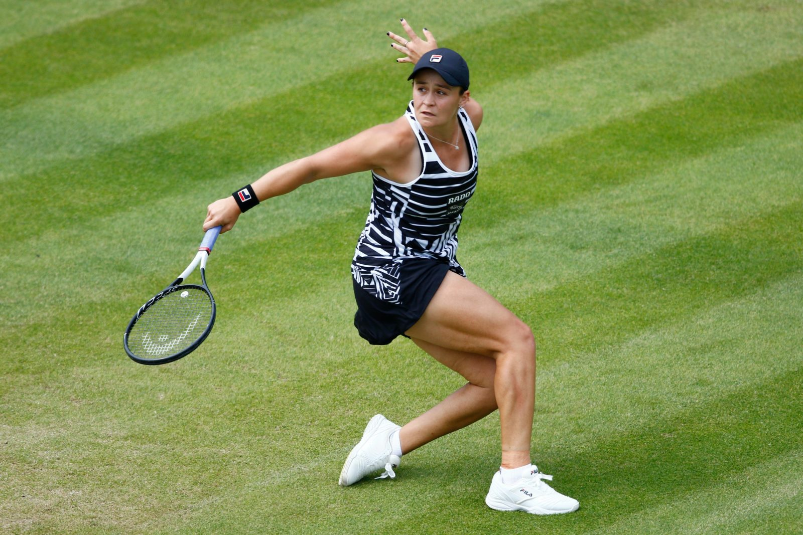 Ash Barty pulled off an incredible win in the final. Source: Getty.