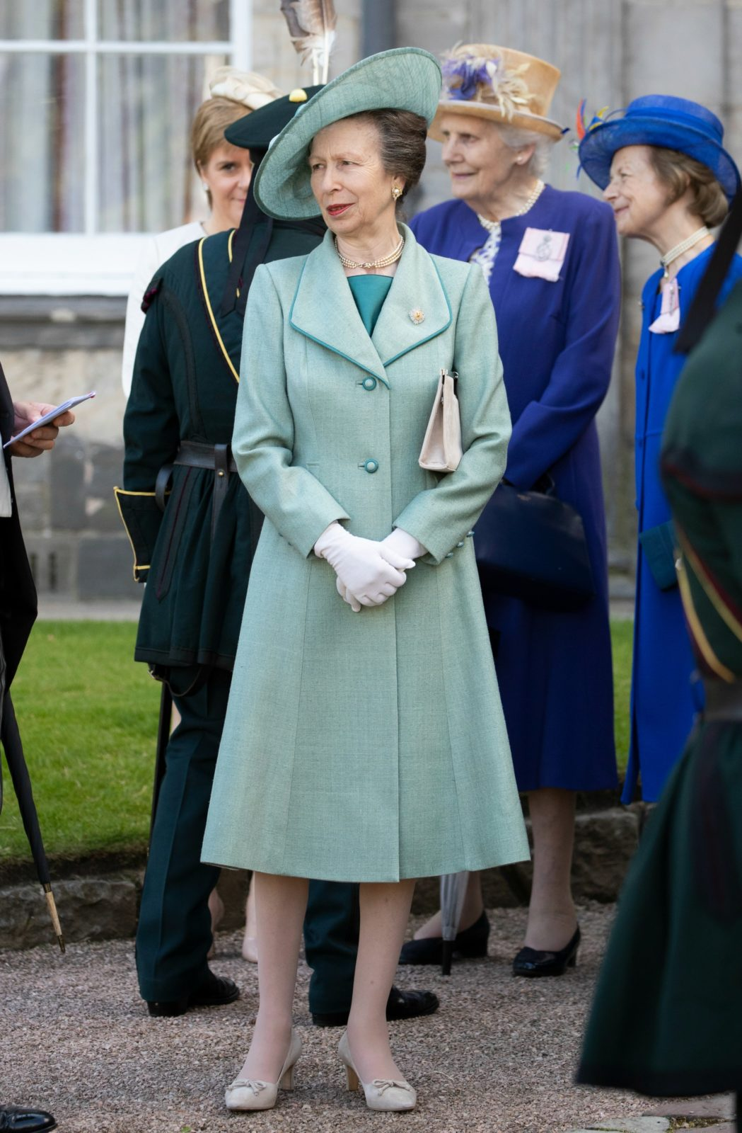 Princess Anne was a special guest at this year's garden party.