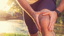 It's common for knee pain to originate in other areas in the body. Source: Shutterstock