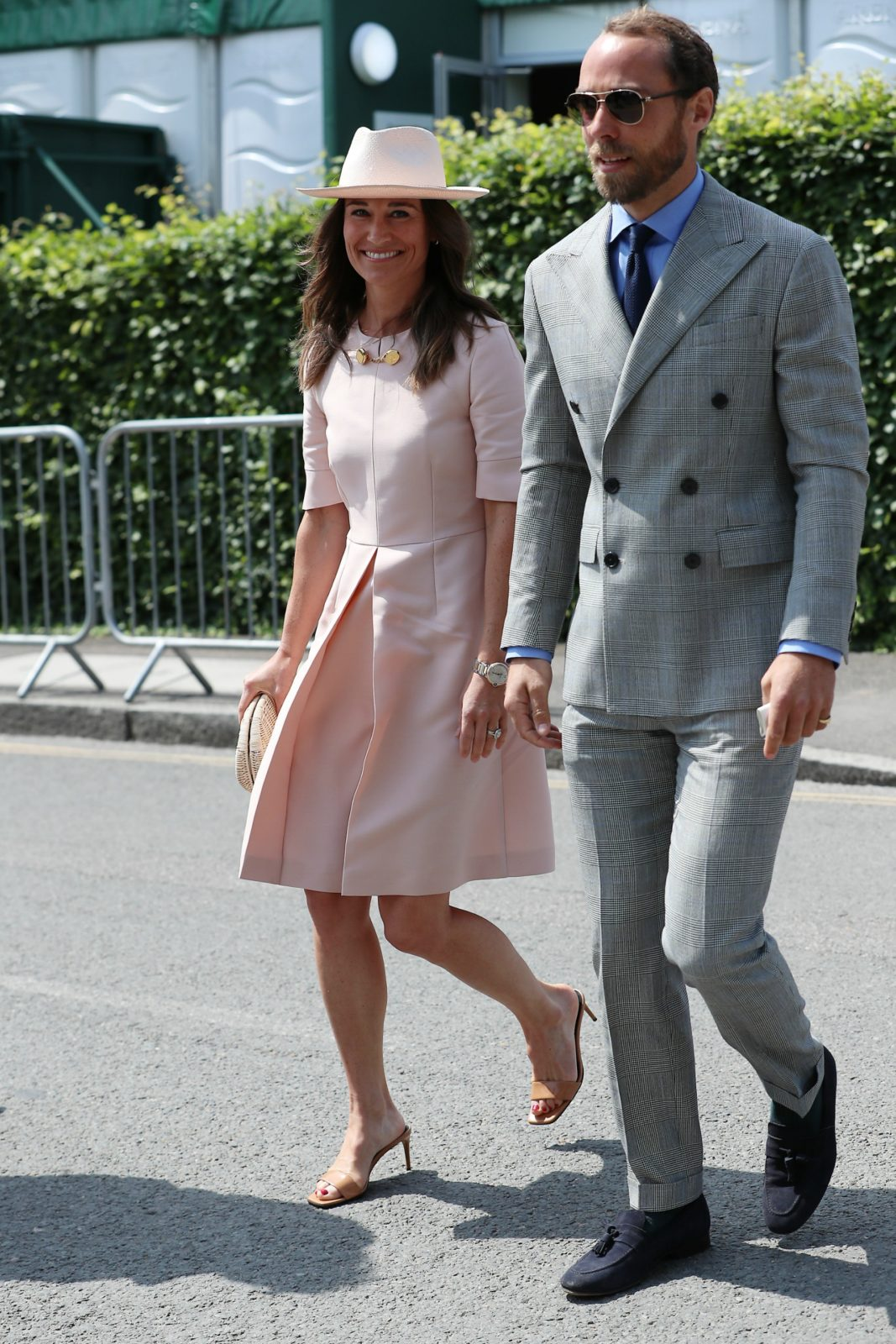 Pippa and James proved they were stylish by stepping out in trendy outfits for Wimbledon.