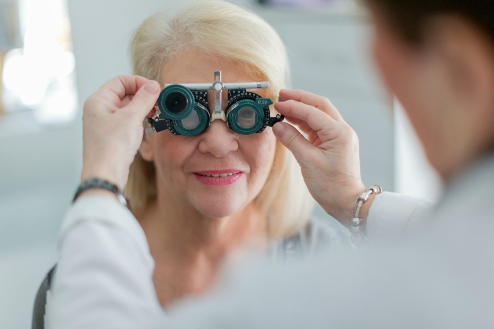 An eye test is recommended to ensure you're wearing glasses that suit your individual needs.
