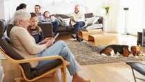Multi-generational homes have become more and more common over the years. Source: Getty
