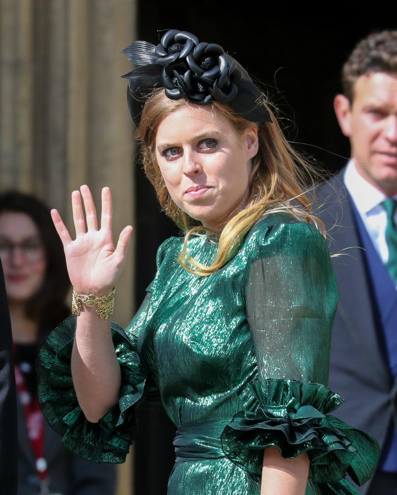 Princess beatrice green dress