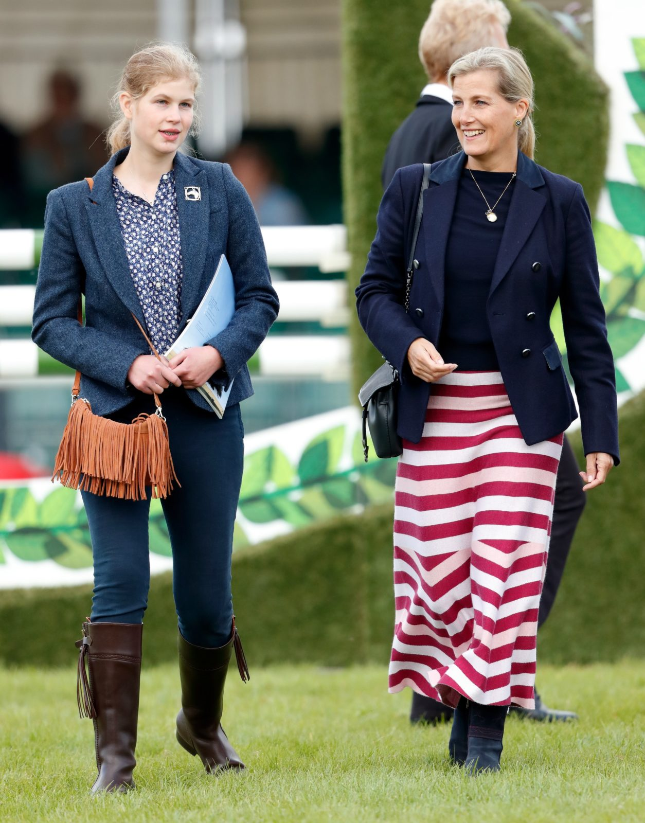 Lady Louise Windsor matches with mum Sophie Wessex on rare royal ...