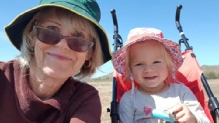 Kay and her granddaughter have a wonderful time together. Source: Kay Smith