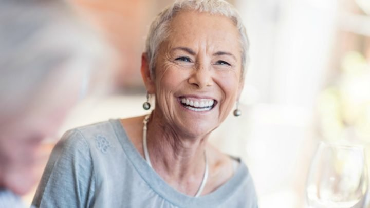 There are several ways to restore missing teeth. Source: Getty (model posed for picture)
