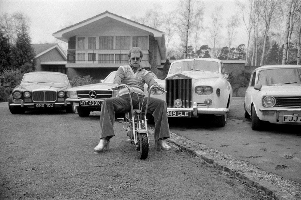 Elton John has always had an impressive collection of cars. Source: Getty.