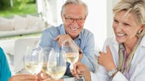 Dr Ross Walker says drinking too much alcohol can increase the risk of developing dementia. Source: Getty  (models posted for picture)