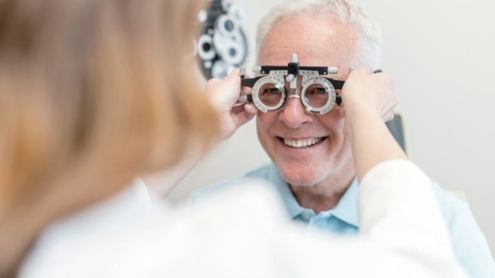 Having regular eye tests can prevent further damage to your sight as you age. Source: Getty