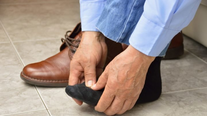 Sometimes wearing the wrong shoes can cause foot pain. Source: Getty