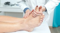 There are specific foot problems that become more common with age. Source: Getty