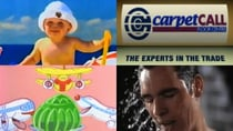 There are some very iconic Aussie jingles. Source: (top L-R) Youtube/FM1156 and YouTube/chevyxwon. (Bottom L-R) YouTube/AeroplaneJellyAus and YouTube/ RetroNZ.