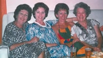 The Grandview Road Girls: Still going strong even years after this story. From left to right: Deb's mum Gweneth, Joy, Dulcie and Kath. Rita took the photo. Source: Debra Trayler