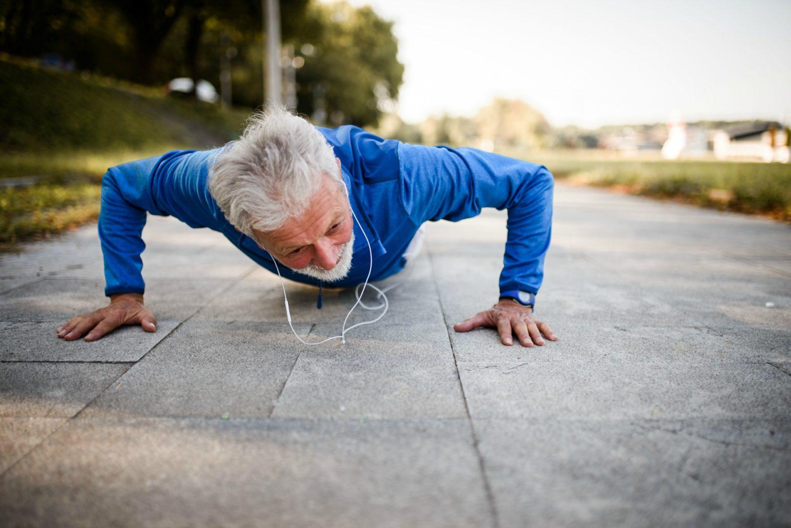 man push-ups