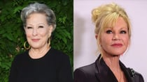 Bette Midler responded with a hilarious post after seeing Melanie Griffith pose in a sensational underwear selfie. Source: Getty.