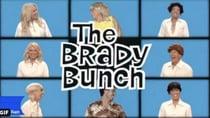 Studio 10 stars transformed into the Brady Bunch family for Halloween. Source: Twitter/Studio 10.
