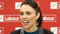 The New Zealand PM recorded the two-minute video in honour of the anniversary of her election success. Source: Getty.