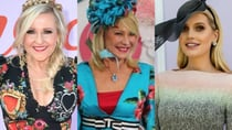 Everyone from Kerri-Anne Kennerley, to her co-star Angela Bishop, and Kitty Spencer wowed in glamorous frocks at this year's Melbourne Cup. Source: Getty