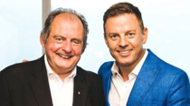 "The 2GB host paid tribute to his late father on Monday, describing him as ""the best"". Source: Instagram/Ben Fordham."