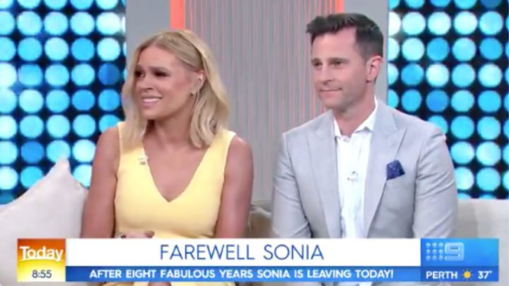 Both Sonia Kruger and Tony Jones finished up on the show on Friday. Source: Getty.