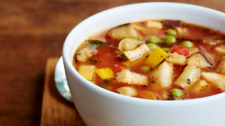 This delicious minestrone soup will have everyone asking you for the recipe! Source: Getty.