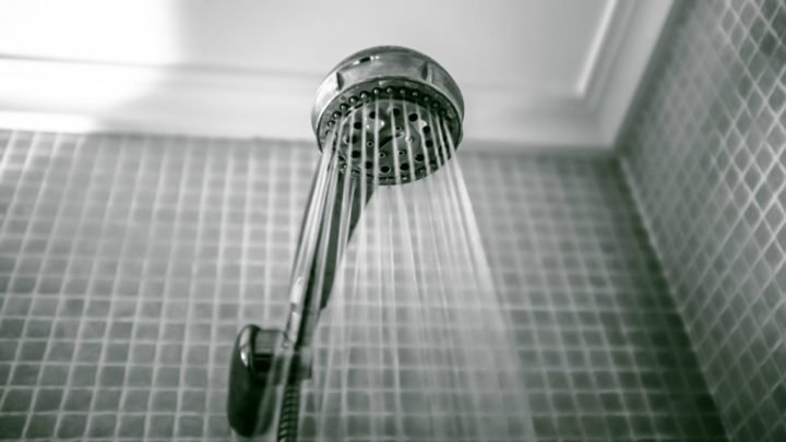 It's no secret that cleaning shower glass is a difficult task.Source: Getty.