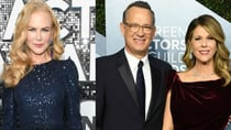 Nicole Kidman and Tom Hanks (both pictured) were both up for awards at Sunday night's awards ceremony. Source: Getty.