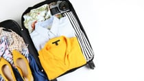 A neatly-packed suitcase makes travelling a breeze. Source: Getty