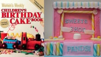 The iconic book created a number of memorable cakes including the famous sweets shop. Source: Instagram/Getty.