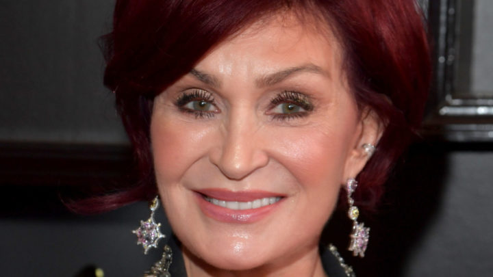 Sharon Osbourne shows off dramatic white gray hair color transformation